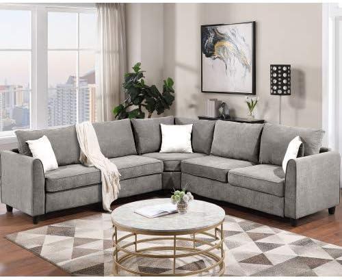 NOUVCOO Sectional Sofa