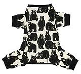 Mama Bear Dog Flapjack Onsie Sweater by LazyOne | Adult Kid Infant Dog Family Matching Pajamas (X-Large)