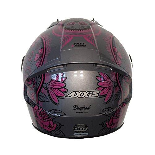 Amazon.es: Casco Axxis STINGER DAYDEAD Rosa Mexican skull calaveras mexicanas (XS)