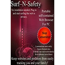 SurfNSafety LeaveNoTrace Military Grade Encrypted Portable Internet Privacy USB for Anonymous Web Browsing. Covertly Access Blocked Sites or Organize Under Oppressive Government. No Installation Req