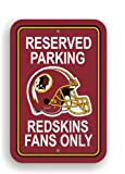 Fremont Die NFL Washington Redskins Plastic Parking Sign