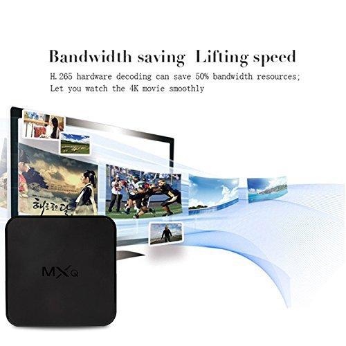 MXQ Android 6.0 TV Box R18 PRO 4K S905X Quard-core 1G+8G Wi-Fi Embedded with Wireless Keyboard by MXQ (Image #2)