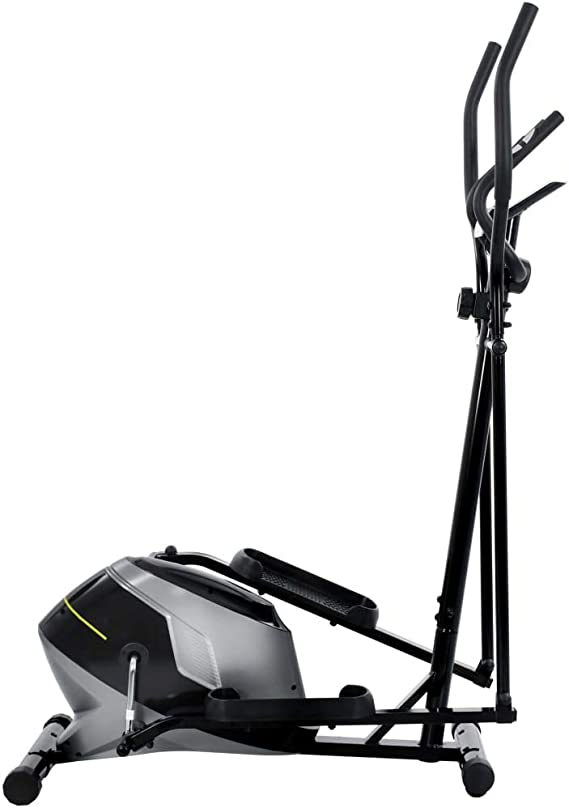 Festnight Bicicleta Elíptica Magnética con Pulsómetro Resistencia ...