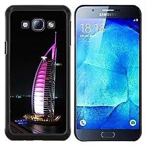 """Be-Star Único Patrón Plástico Duro Fundas Cover Cubre Hard Case Cover Para Samsung Galaxy A8 / SM-A800 ( Burj Dubai"""" )"""