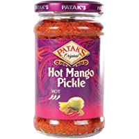 Patak's Pataks Hot Mango Pickle 283 G (Pack of 6)