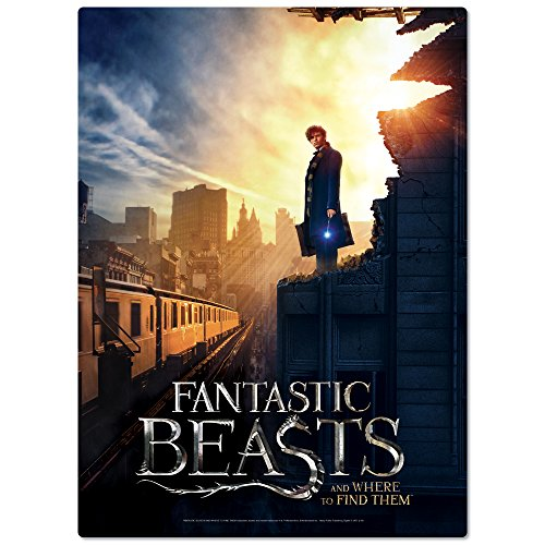 WREBBIT 3D Fantastic Beasts Ny City Poster Puzzle (500 Pieces)