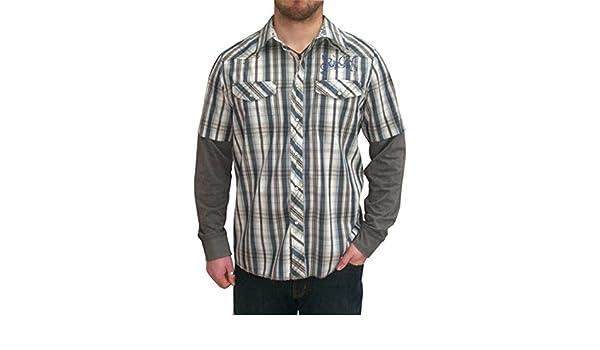 Rip Curl Rosario Orion de doble capa azul camiseta: Amazon.es: Ropa y accesorios
