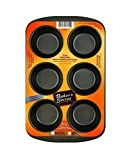 Bakers Secret 1114365 6 Cup Baker's Secret® Muffin Pans
