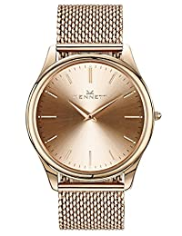 Beautiful Kensington Rose Gold Watch for Men and Women - affordable gift not found in stores