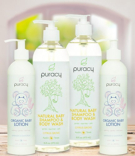 Puracy Natural And Organic Baby Care Gift Set Baby