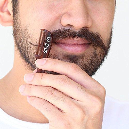 ZEUS Mustache Styling Wax + Saw-Cut Mustache Comb Kit! by ZEUS (Image #5)