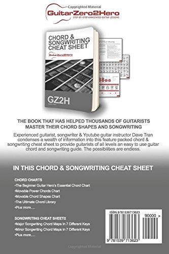 Guitar Chord & Songwriting Cheat Sheet: GuitarZero2Hero: Dave T ...