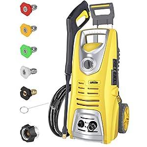 Oasser Electric Pressure Washer Power Washer 3046 PSI 1.85 GPM 1800W High Pressure Washer Portable Car Washer Machine…