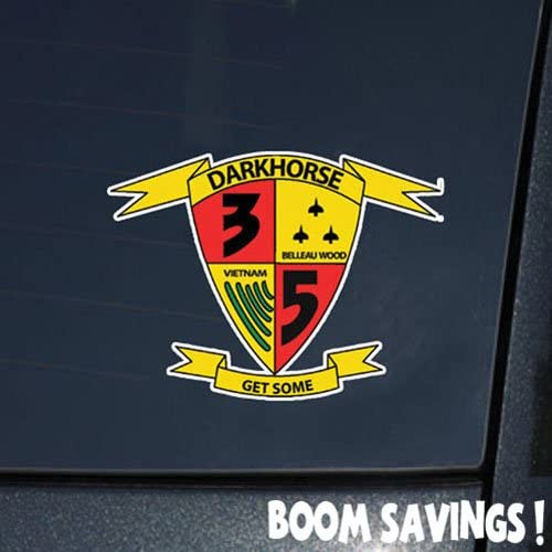1st Battalion 5th Marines USMC sticker vinyl decal
