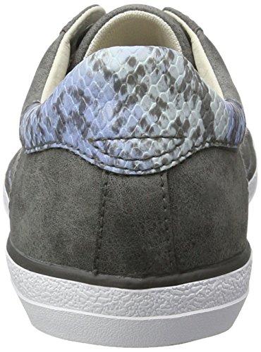 Esprit Miana Lace Up, Zapatillas para Mujer Gris (gunmetal 015)
