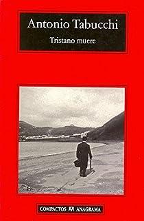 Tristano muere par Tabucchi