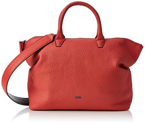 Bree Ladies Massai Rosso, Borsa A Tracolla Icon Bag S18, Rossa (rosso Massai), 12x38x32 Cm