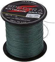 YHJIC Nylon Braid Fishing Wire 30lb 300M 11kg for Lure Train