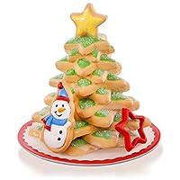 Hallmark QX9169 Season's Treatings Cookie Tree Snowman Ornament