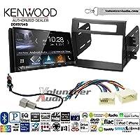 Volunteer Audio Kenwood DDX9704S Double Din Radio Install Kit with Apple Carplay Android Auto Fits 2012-2013 Kia Soul