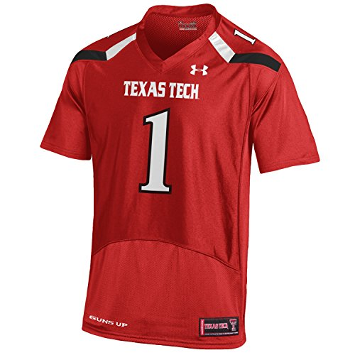 NCAA Texas Tech Red Raiders Men's Premier Sideline Replica Jersey, X-Large, Red