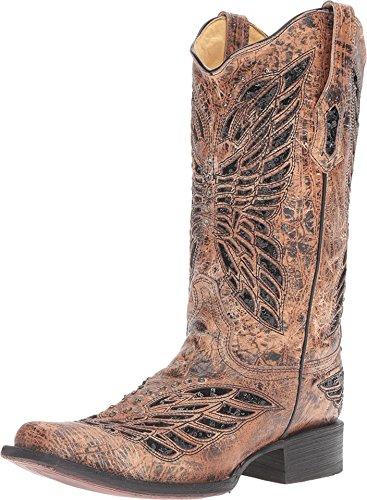 Bottes Corral Femmes R1226 Noir / Bronze Boot