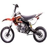 Amazon.com: Apollo DB-007 125cc Dirt Bike Red: Sports ...