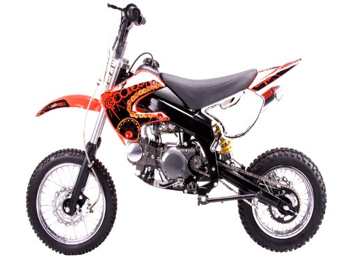 Dirt bike 125cc Manual Clutch, Red