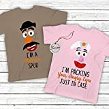 Mr/Mrs Potato Head Shirt Matching Couple Toy Halloween Costume I'm Married Spud & I'm Packing Your Angry Eyes Customized Handmade Hoodie/Sweater/Long Sleeve/Tank Top/Premium T-shirt
