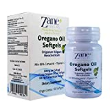 Zane Hellas Oregano Oil 60 Softgels.The Highest Concentration in The World. A Softgel Contains 15% Pure Greek Wild Essential Oil of Oregano and Provides 64 mg Carvacrol