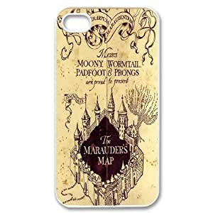 High Quality Phone Back Case Pattern Design 16J.K. Rowling,Harry Potter Series Design- For Iphone 4 4S case cover