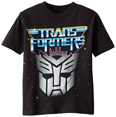 Transformers Boys' Short Sleeve T-Shirt Shirt