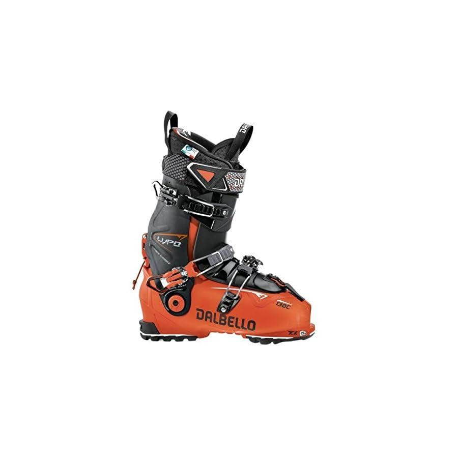 Dalbello Lupo 130 C Ski Boots, Male, Orange Black Black, 28.5, DL130C7.OB.285