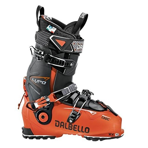 Dalbello Lupo 130 C Ski Boots, Male, Orange Black Black, 29.5, DL130C7.OB.295