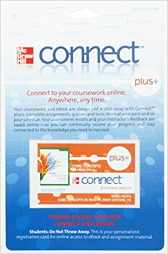 Connect Plus Personal Health Access Card for Core Concepts in ...