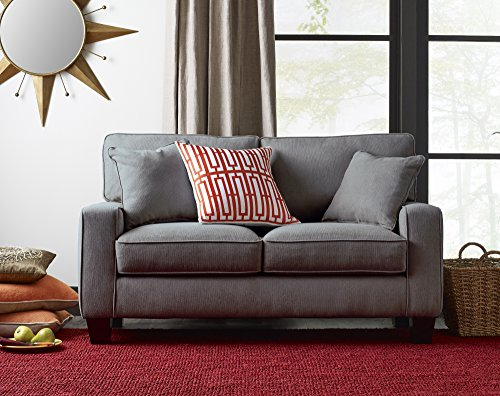 Truly Home Uph100007 Andrew Loveseat 61″ In Essex Gray Explained