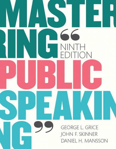 Mastering Public Speaking Plus NEW MyCommunicationLab for Public Speaking -- Access Card Package (9th Edition)