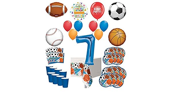 Football Party Pack Kids Birthday Party Soccer Party Latex Balloon 16 32 guests