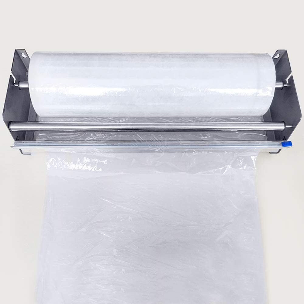 Iamagie Stretch Film Dispenser Wrap Machine Adjustable Automatically Cut Off Pallet Wrapper Industrial Sealer Protective Carpet Packing Heavy Duty Shrink
