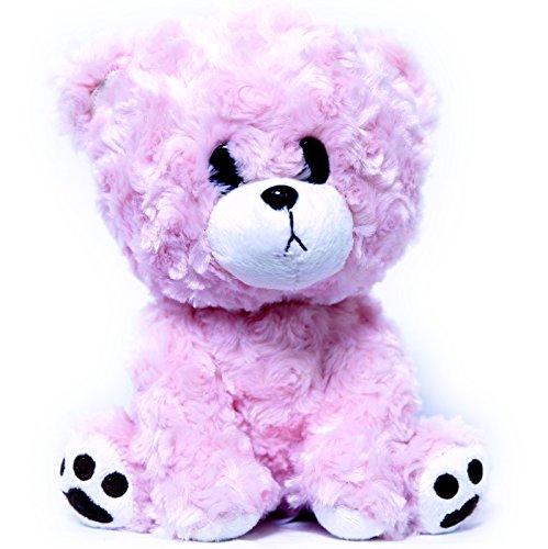 Bear Stuffed Animal Buddy (Teddy Bear Plush Stuffed Animal - Buddy the Pink Sad Bear Toy Gift 9