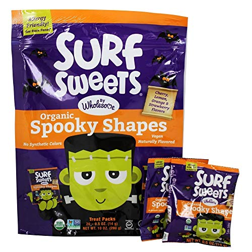 Surf Sweets - Organic Candy Spooky Shapes - 10 oz. ()