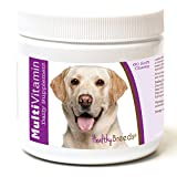 Healthy Breeds Dog One A Day Vitamin Soft Chews for Labrador Retriever, White- Over 200 Breeds - for Small Medium & Large Breeds - Easier Than Liquid or Powders - 60 Chews