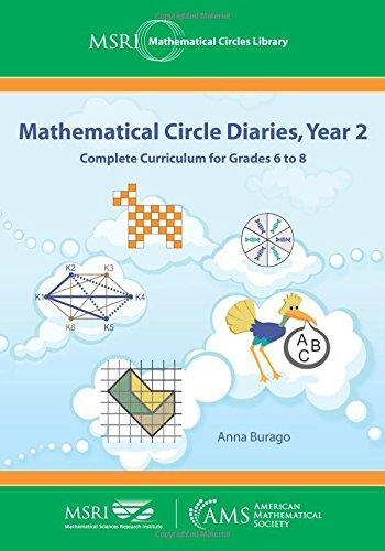 Mathematical Circle Diaries Year 2  Mathematical Circles Library Band 20