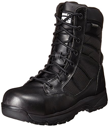 Original S.W.A.T. Womens Metro 9 Waterproof SZ Safety Womens Black Military & Tactical Boot, Black