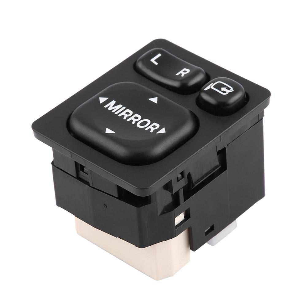 Power Mirror Switch Car Rear View Folding Mirror Control Switch for 84872-52040 Mirror Control Switch