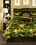 Rose Tree Rain Forest Queen Comforter Set