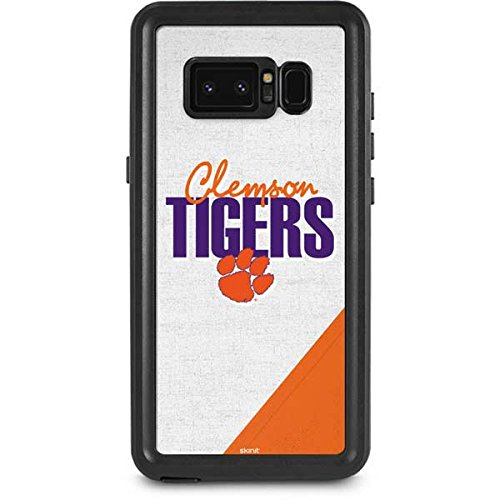 Clemson University Galaxy Note 8 Case - Clemson Tigers | Schools X Skinit Waterproof Case Clemson Tigers Note