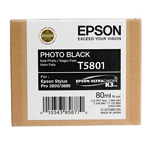 Photo Black Ultrachrome Ink Cartridge 80 - T580100 ()