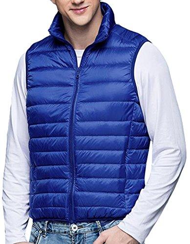 Moda Pesce Inverno Blu Caldo Eku Ripiegabile Giacca Reale Maschile M Palla Stati Gilet Giù Uniti rx1HrwUFqf
