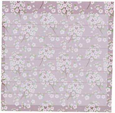 Freshsell 80 Blatt/Block mit Blumen-Tierserie, Papier-Aufkleber, Memoblöcke, Haftnotizen